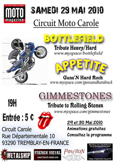 Rassemblement Moto au circuit Carole @ Tremblay-en-France