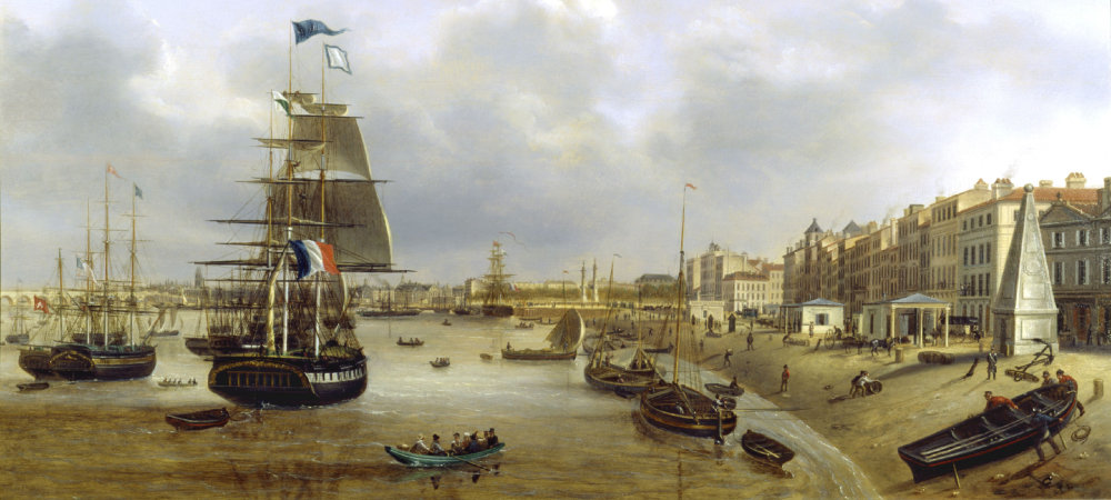 Le monde de cathy landes - Le port de bordeaux par joseph vernet ...