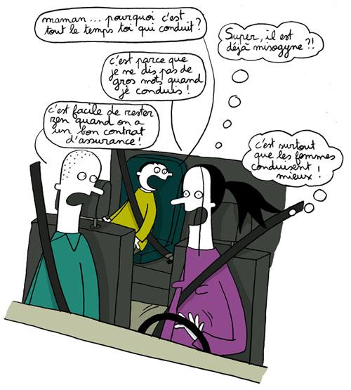 Assurance automobile et femme au volant