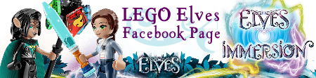 Stickers autocollants LEGO® Elves  Bannierefixe