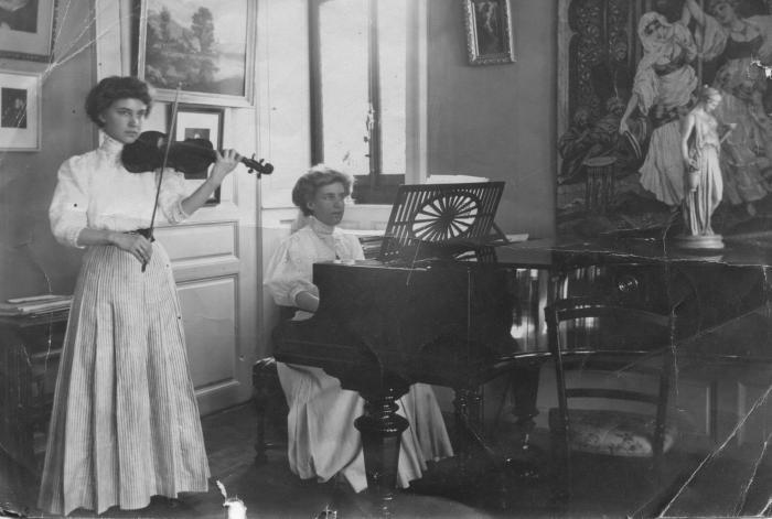 Découvrer le photographe père d'Hélène et Germaine, Louis-Frédéric LE COULTRE