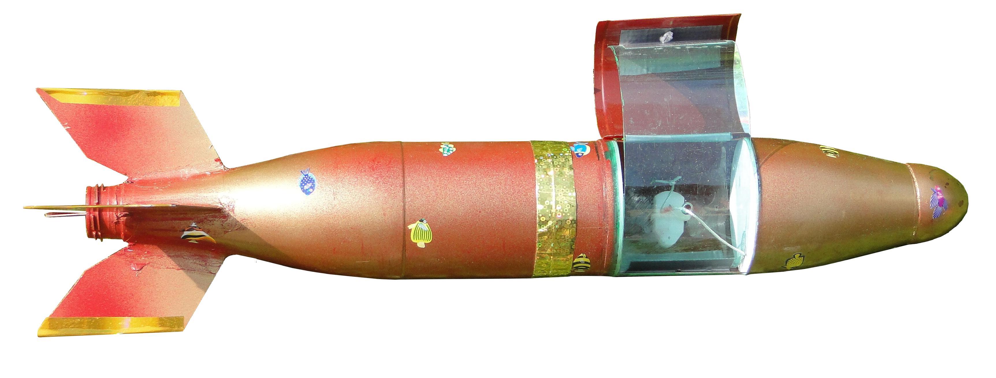 La fusée MiniJab de PapyJo détourée