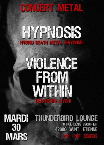 Hypnosis @ St Etienne