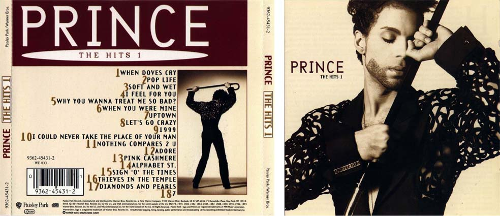 Prince I Could Never Take The Place Of Your Man Hot Thing