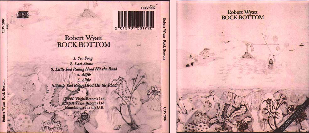 Robert Wyatt - Rock Bottom 1974