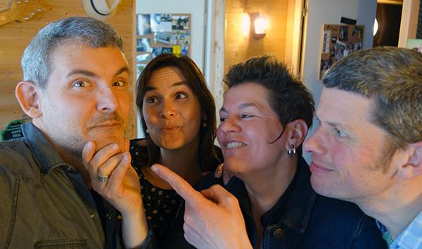 Pat, Alice, Sonia & Olivier