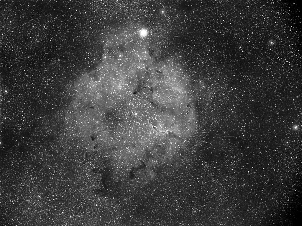 IC1396 la trompe en SHO Ic1396