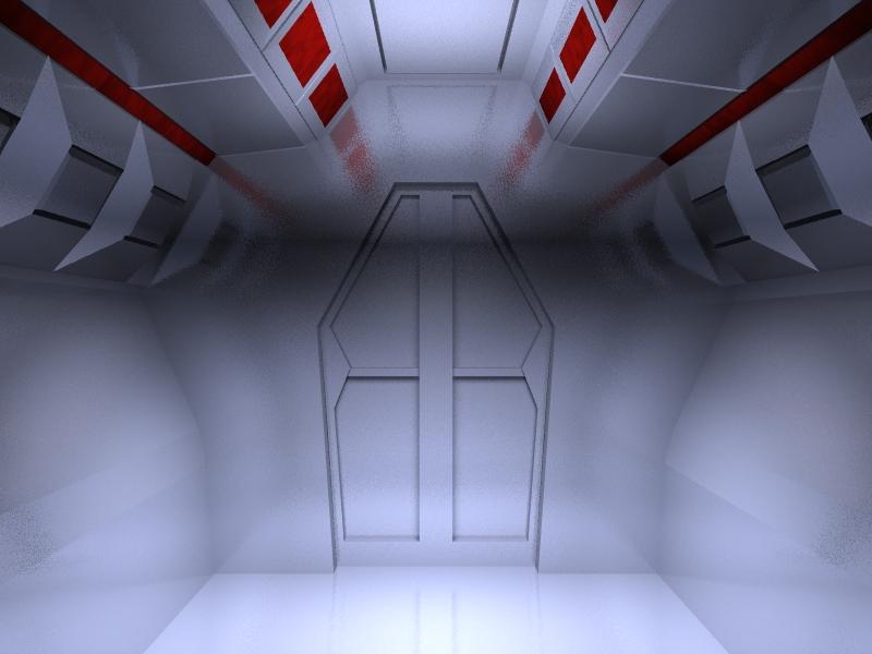 Projets lightwave chdelannoy for Interieur vaisseau spatial