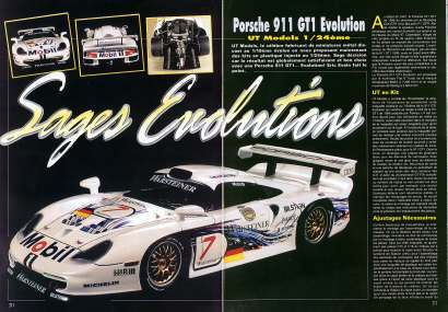formule 1 20me porsche 911 gt1 evolution. Black Bedroom Furniture Sets. Home Design Ideas