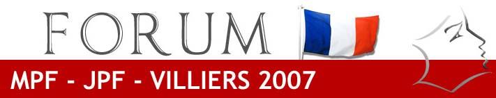 FORUM JPF 2007